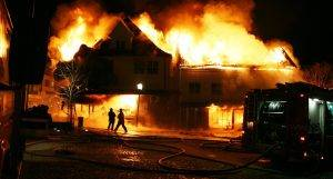 A Home On Fire