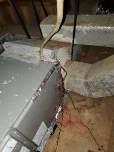 Brubaker Faulty wiring